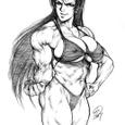 せっかくの木村○宏キャラですので、パイオツ大きめです。