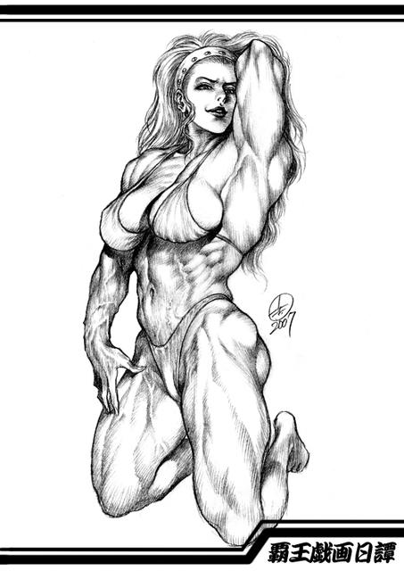 格闘ゲーム界に君臨する筋肉美女の頂点(オレ的)